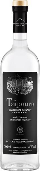 Tsipouro Tirnavou Katsaros ohne Anis