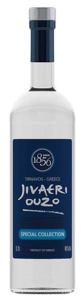 Ouzo Jivaeri 40 % Special Collection dreifach destilliert 700ml